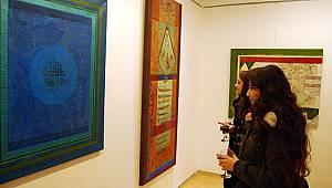 Doç. Dr. Ekrem Kılıç'ın sergisi büyük ilgi gördü