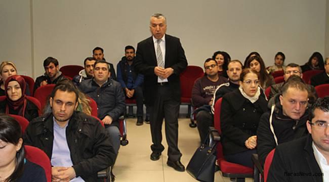 Aday Öğretmenlere 5580 sayılı Özel Öğretim kurumları kanunu anlatıldı