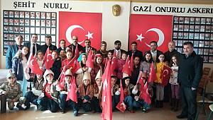 Bahaettin Karakoç İlkokulunda Vatan Sevgisi