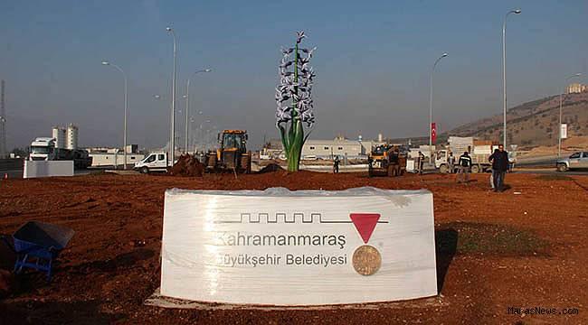 Büyükşehir'den Sümbül anıtı