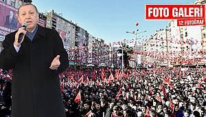 Cumhurbaşkanı Erdoğan referandum startını Kahramanmaraş'tan verdi