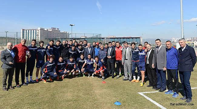 KSÜ, Kahramanmaraşspor'a kapılarını açtı