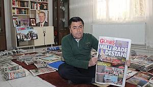 Mirası 27 yıllık gazete arşivi