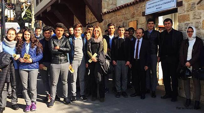 Öğrencilere Kültür ve tarihimiz tanıtıldı
