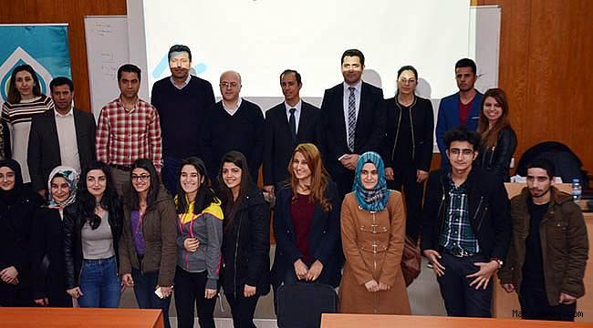 Prof. Dr. Kurnaz, KSÜ'de İklim değişikliğinin etkilerini anlattı