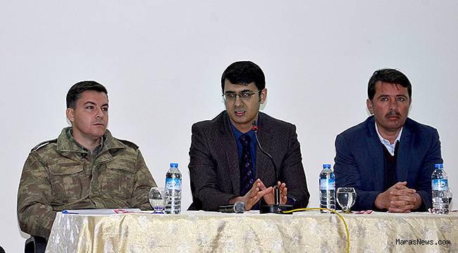 Türkoğlu'nda Muhtarlarla İstişare Toplantısı