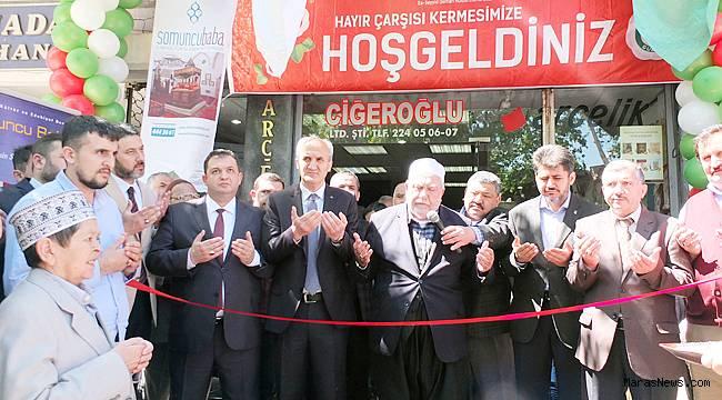 Es-Seyyid Osman Hulisi Efendi Vakfı Kermes açtı