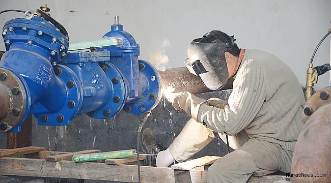 KASKİ, içme suyu depolarının bakım onarımlarını sürdürüyor