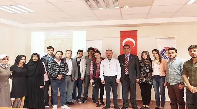 KSÜ'de Arazi Toplulaştırma paket programları uygulama semineri düzenlendi