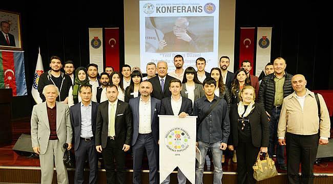 Kurtoğlu, KSÜ'de Yeni Dünya düzenini anlattı