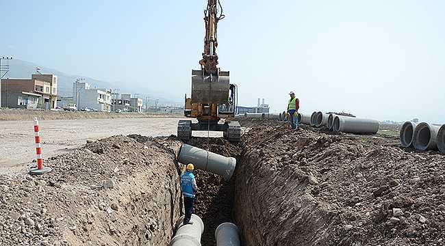 Kanalizasyon çalışmaları il genelinde devam ediyor