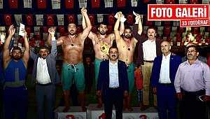 Karakucak Güreş Festivali nefes kesti