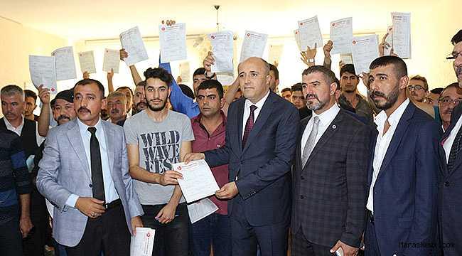MHP Dulkadiroğlu teşkilatına rekor katılım