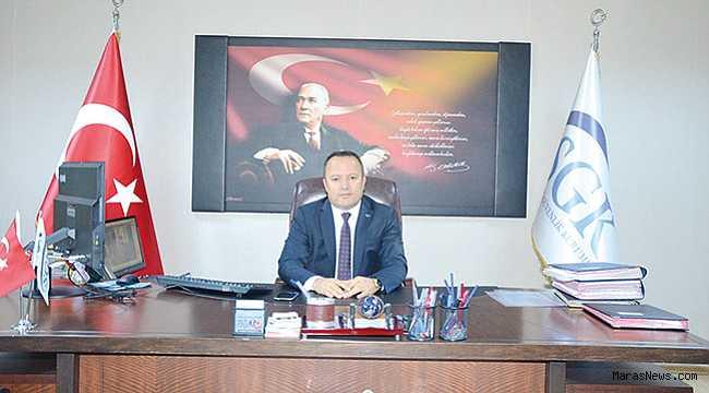 SGK İl Müdürlüğü'ne Harun Akbalaban atandı