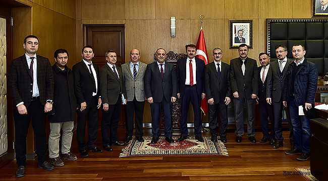 DSİ'den Başkan Erkoç'a ziyaret
