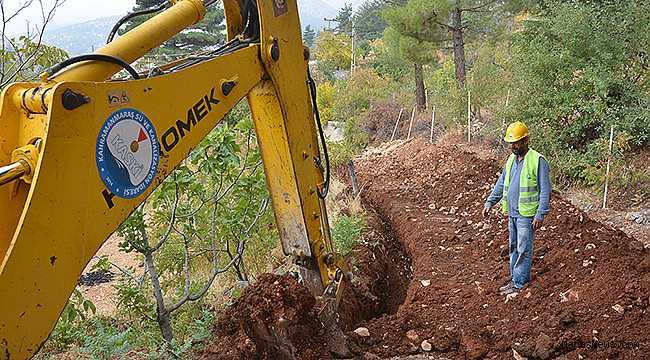 Gafarlı'ya 18 KM yeni içme suyu şebekesi