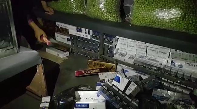 Maraş'ta 3 bin 150 paket kaçak sigara yakalandı