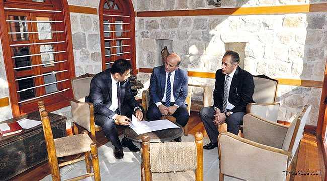 Maraş'ta DOĞAKA teknik destek sözleşmeleri imzalandı