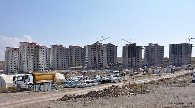 Maraş'ta 9 ayda 15 bin 897 daireye yapı ruhsatı verildi