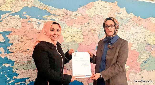 AK Parti Ekinözü Kadın Kolları Başkanlığına Elif Kalmış atandı