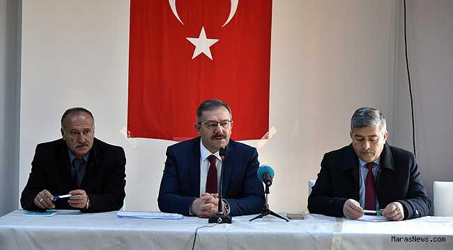 Başkan Aydın, Muhtarlarla istişare toplantısı yaptı
