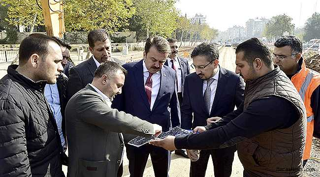 Dev projeler kente prestij katıyor