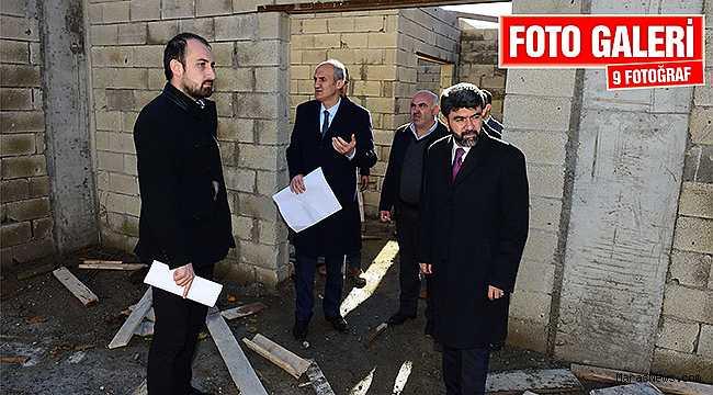 Dulkadiroğlu'ndan Başdervişli Mahallesine sosyal tesis