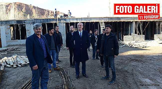 Dulkadiroğlu'ndan Beşenli'ye Sosyal Tesis