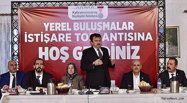 """""""Kahramanmaraş'ı en kıskanılan şehir haline getireceğiz"""""""