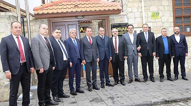 KMTSO Başkanı Zabun, MÜSİAD yönetimi ile bir araya geldi