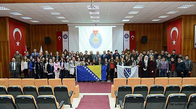 KSÜ, Bosna-Hersekli Gençleri Ağırladı