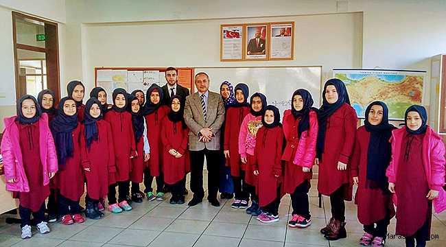 Müftü Demir'den Ilıca İmam Hatip Ortaokulu'na ziyaret