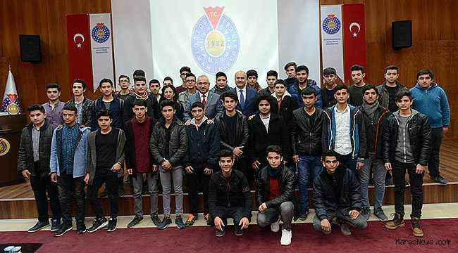 Osmaniye İHL Rektör Deveci'yi Ziyaret Etti
