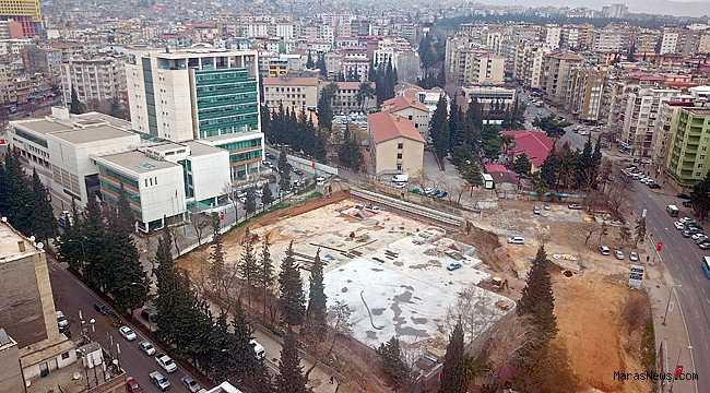 Otopark inşaatı tamamlandı