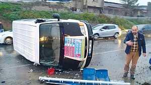 Sümbüllü Kavşağı'nda kaza: 1 Yaralı