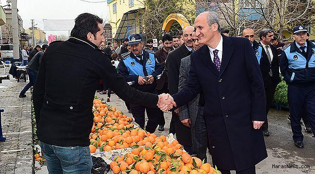 Dulkadiroğlu'ndan Karaziyaret Mahallesine yeni pazar yeri
