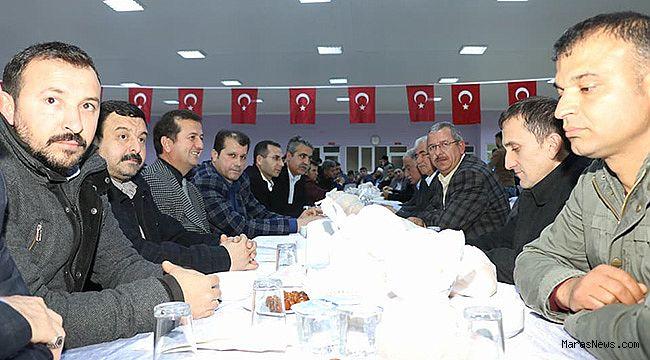 Pazarcık'ta yüzlerce kişi Mehmetçik için toplandı