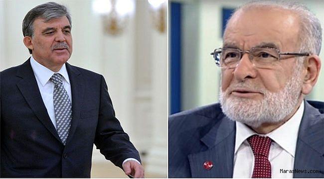 Saadet Partisi Abdullah Gül'e açık kapı bıraktı