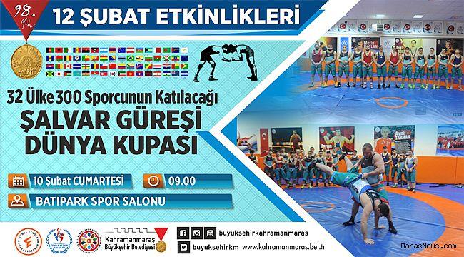 Şalvar Güreşi Dünya Şampiyonası Kahramanmaraş'ta
