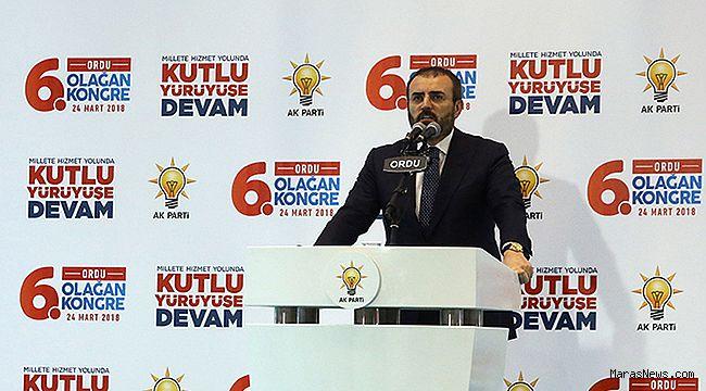 """""""AK Parti, bizzat milletin kendisidir"""""""