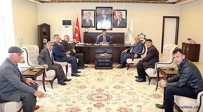 Başkan Bozdağ'a Umre ziyaretleri devam ediyor