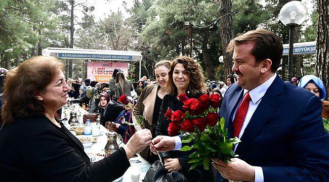 Başkan Erkoç'tan Bayan personellere jest
