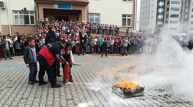 Büyükşehir 29 kurumda eğitim ve tatbikat gerçekleştirdi