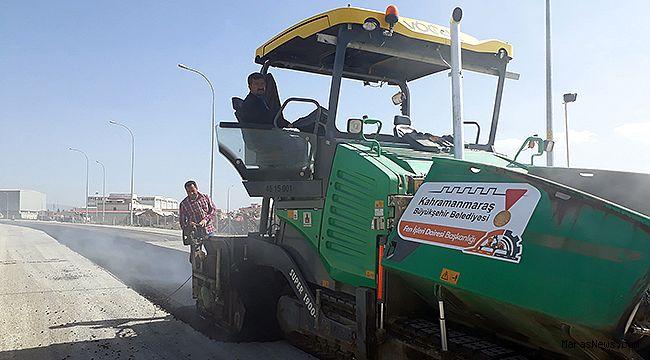 Büyükşehir sıcak asfalt sezonunu açtı