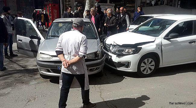 Kiralık araç ile kaza yaptılar