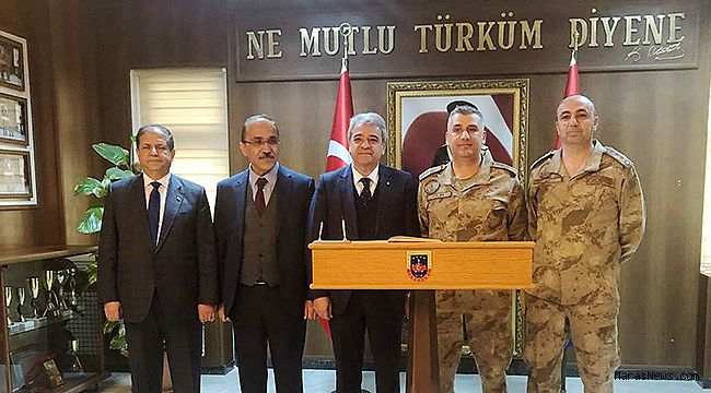 KMTSO Başkanı Zabun'dan Afrin'de Görev Yapan Mehmetçik'e destek