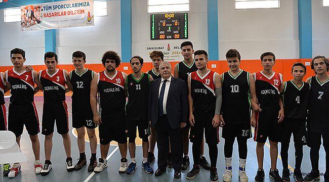 Kuruluş Kupası turnuvasına Başkan Mahçiçek start verdi