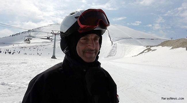 Tahmazoğlu Yedikuyular Kayak Merkezinde