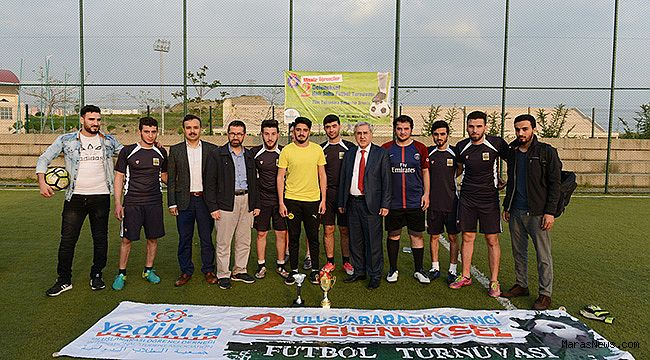 42 Ülkeden KSÜ Öğrencileri, futbol turnuvasında buluştu