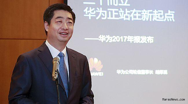 Huawei, 2017 yılında 7,3 milyar dolar net gelir elde etti